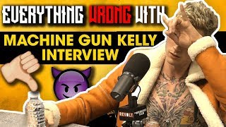 Everything Wrong With Machine Gun Kelly's Breakfast Club Interview