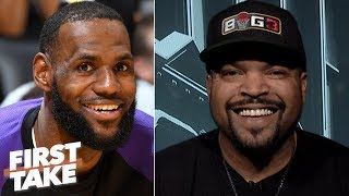 Ice Cube addresses the Lakers' free-agency needs, creates his All-NBA Big 3 | First Take