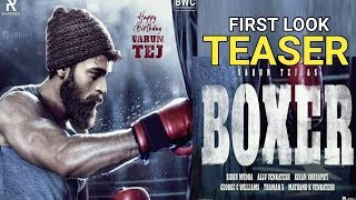 Varun Tej's striking first look in Boxer movie..