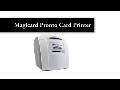 Magicard Pronto ID card Printer - single card feed