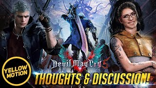 DEVIL MAY CRY 5 What We Know So Far! E32018 Reveal Trailer Breakdown Analysis Thoughts & Discussion