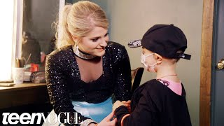 Meghan Trainor's Biggest Fan Will Melt Your Heart | Teen Vogue