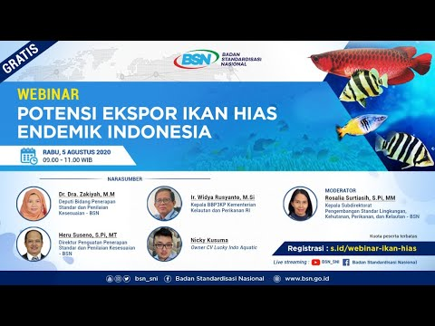 https://youtu.be/1-hWD4c36KYWebinar Potensi Ekspor Ikan Hias Endemik Indonesia