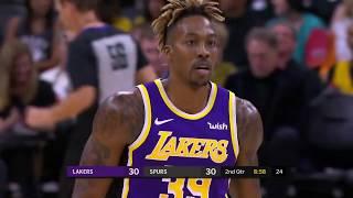 Dwight Howard Full Play 11/03/19 Los Angeles Lakers vs San Antonio Spurs | Smart Highlights