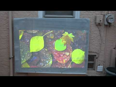 crystal edge technology screens outside demo
