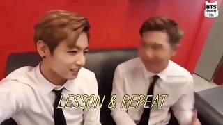정국이와 몬선생의 PARDON수업 (JungKook and RapMon's PARDON Lesson) [Eng Sub]