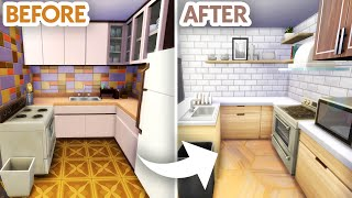 RENOVATING AN OUTDATED HOME // Sims 4 Speed Build