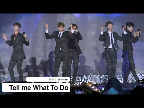 샤이니 SHINee[4K 직캠]Tell me What To Do@20161118 Rock Music