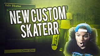 SKATE 3 - SICK NEW CUSTOM SKATER!