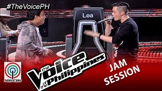 """The Voice of the Philippines: Eric Nicolas sings """"Get Here"""" with Coach Bamboo (Season 2)"""