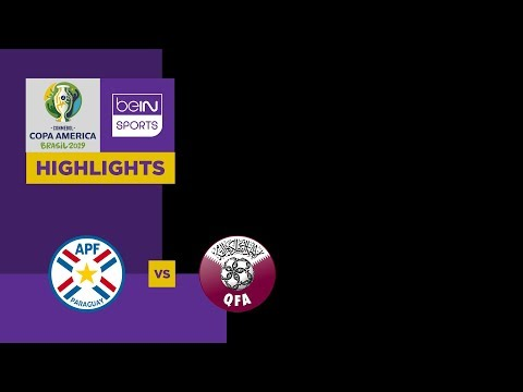 Paraguay v Qatar Match Highlights