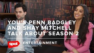 You's Penn Badgley and Shay Mitchell on Season 2 and Why Fans Are Obsessed With Joe