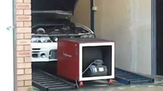 JZX100 Chaser GT35 dyno - 380rwhp, auto