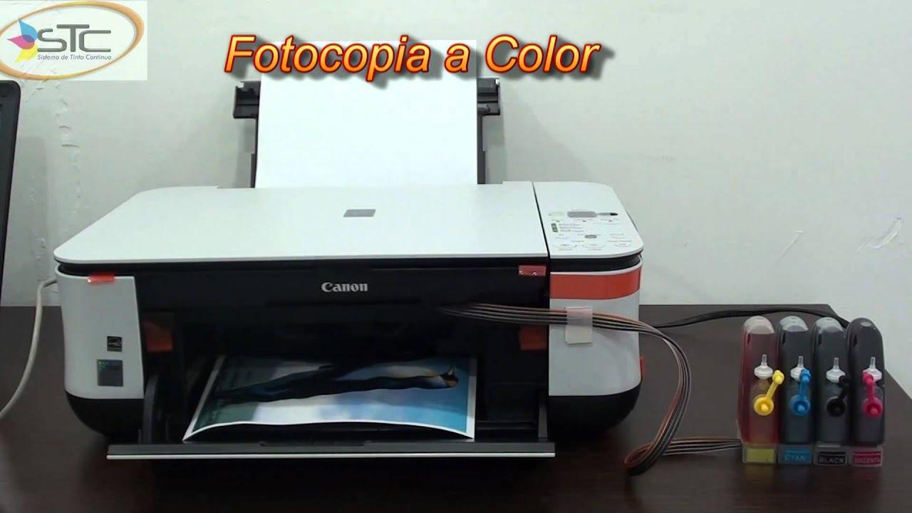 Impresora Canon Pixma Mp250 Con Sistema De Tinta Continua
