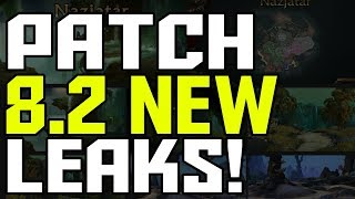 *LEAKED* New WoW Patch 8.2 News - Release Date + New Allied Races?
