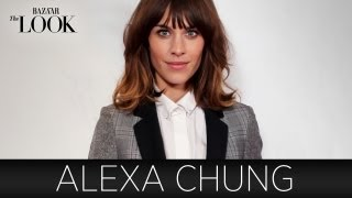 Alexa Chung on How She Found Her Style | Harper's Bazaar The Look S2.E10