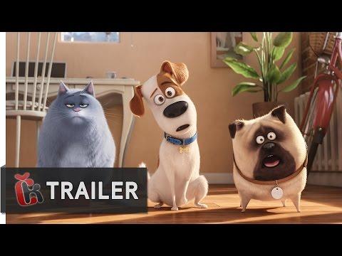 Tajný život mazlíčků (2016) - oficiální dabovaný trailer