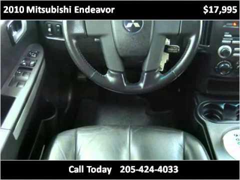 2010 Mitsubishi Endeavor Used Cars Birmingham AL