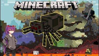 """Những Điều Bạn Cần Biết Về """"Nhện"""" Trong Minecraft !! (Spider)"""