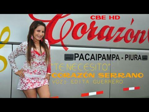 TE NECESITO - CORAZON SERRANO  (1080P HD)