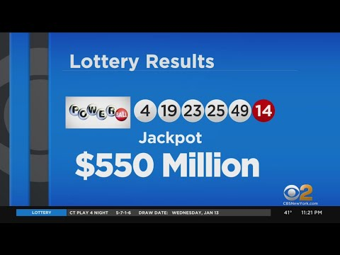 Powerball Numbers Drawn For $550 Million Jackpot