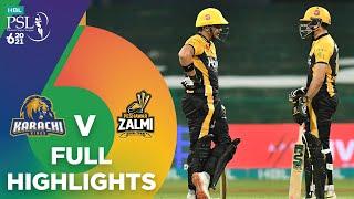 Full Highlights   Karachi Kings vs Peshawar Zalmi   Match 24   HBL PSL 6   MG2T