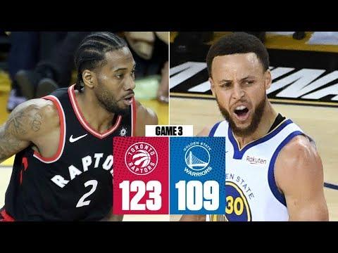 Kawhi Leonard, Raptors thwart Steph Curry's career-night to win Game 3   2019 NBA Finals Highlights