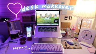 desk makeover: aesthetic, organization, productivity at home