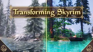 How To Turn Skyrim Into Ultimate Next Gen Game! (Only 25 Skyrim Mods 2021)