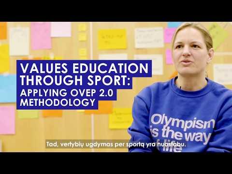 Olimpinių vertybių ugdymo programos tarptautiniai mokymai