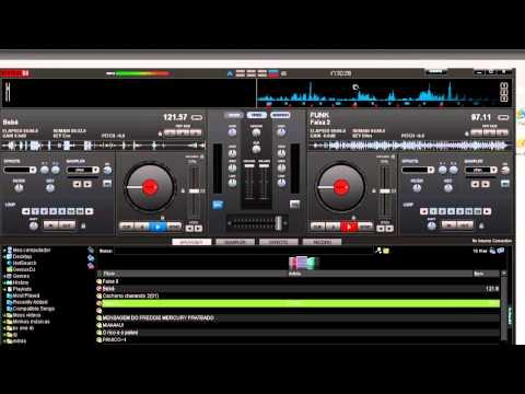 como fazer pre escuta no virtual dj