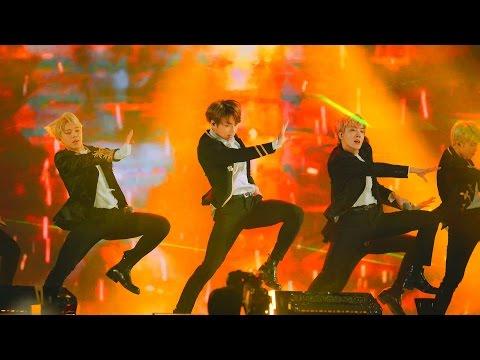 [4k Fancam/직캠]170114 BTS (방탄소년단) - 피땀눈물 + FIRE (불타오르네) @골든디스크