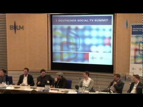Reportage: über den ersten Deutschen Social TV Summit 2012