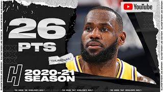 LeBron James 26 Pts Full Highlights vs Thunder | January 13, 2021 | 2020-21 NBA Season