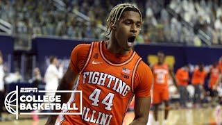 No. 4 Illinois dominates No. 2 Michigan [HIGHLIGHTS] | ESPN College Basketball