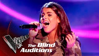 Paige Young Performs 'Crying In The Club': Blind Auditions | The Voice UK 2018