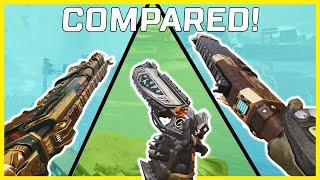 Apex Legends EVA-8 Vs Mastiff Vs Peacekeeper Vs Mozambique Compared! Which Shotgun Is Better?