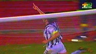 UDINESE-VENEZIA 3-1 DEL 23 APRILE 1995 BREVE SINTESI GOL DI CARNEVALE 2, BANCHELLI, PITTANA