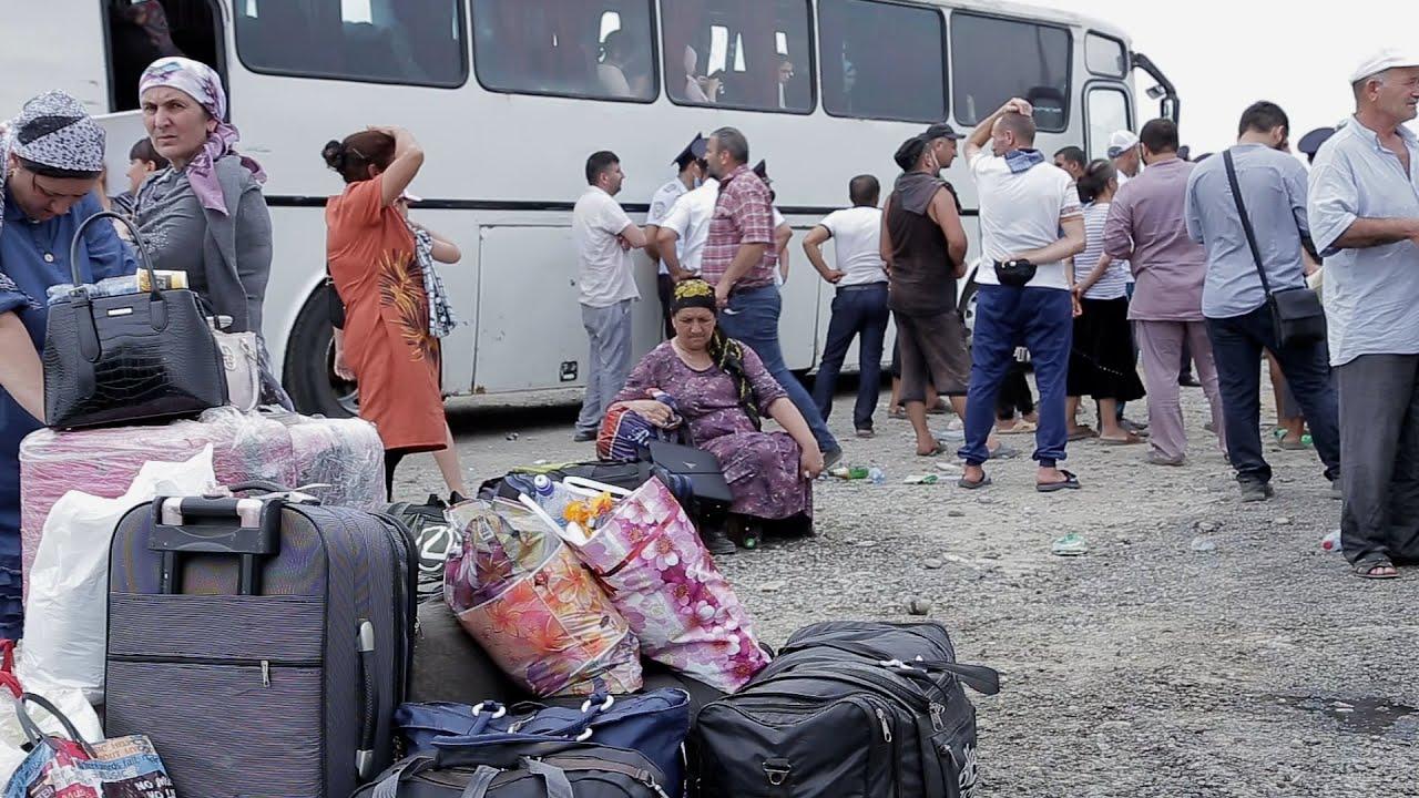 Обитатели лагеря в Кулларе рассказали о нарушениях карантина
