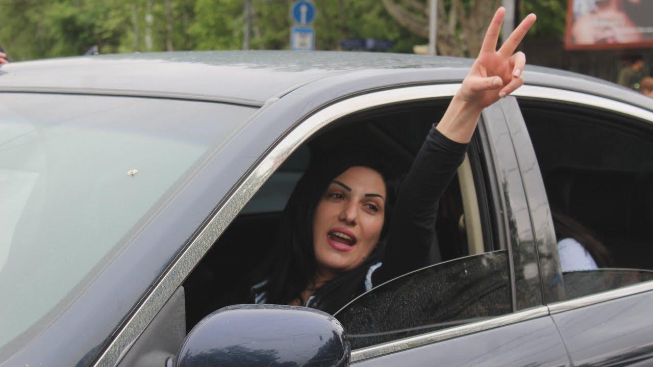 Ереван: когда протестуют женщины, полиция отступает