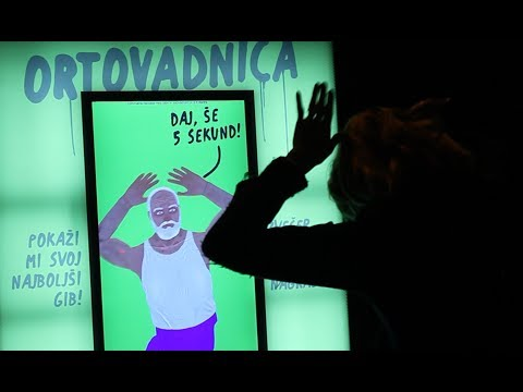 Ortovadnica - Full-body Interactive City Light Displays
