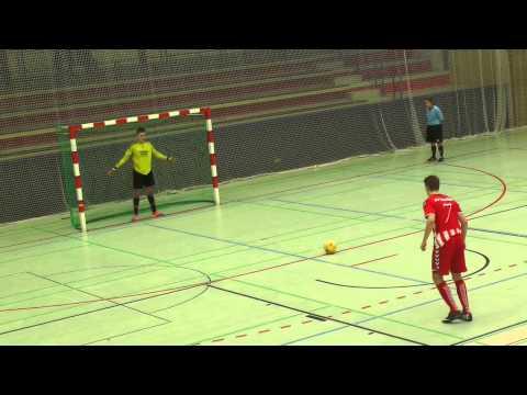 Rahlstedter SC - SV Eichede (U19 A-Jugend, Halbfinale, NFV Futsal-Meisterschaft 2015) - Sechsmeterschießen | ELBKICK.TV präsentiert vom NØRHALNE CUP
