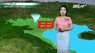 (VTC14)_Thời tiết 6h ngày 12.05.2017
