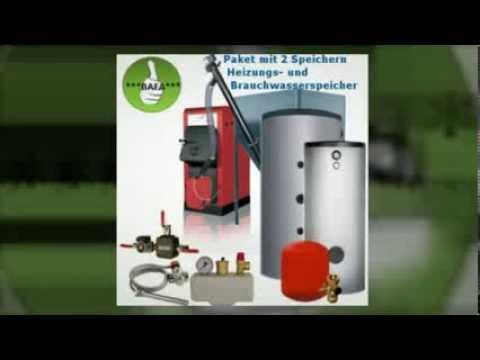 Pelletkesselset Orligno 100 BAFA Förderbar 16 kW Heizung und Brauchwasser