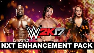 NXT Enhancement Pack available for WWE 2K17
