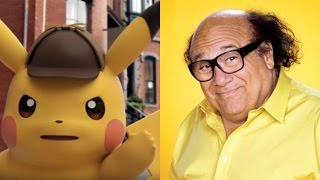 Danny Devito To Voice Pikachu - Detective Pikachu English Trailer