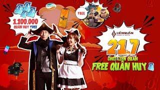 Cris Devil Gamer x Mai Quỳnh Anh I 21/7 Free Quân Huy - Garena Liên Quân Mobile