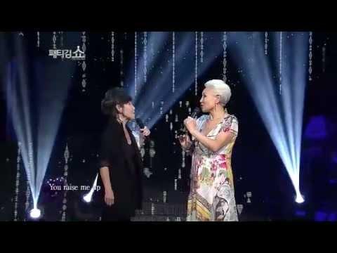 [JTBC] 패티김 쇼 1회 명장면 - 패티김&윤복희, (You raise me up)