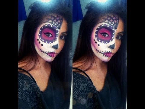 Baixar Easy Sugar Skull Halloween Tutorial
