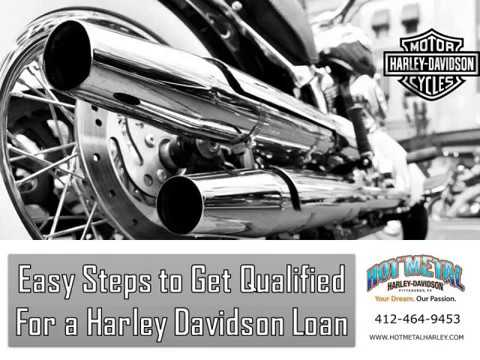 Easy Steps To Get Qualified For A Harley Davidson Loan